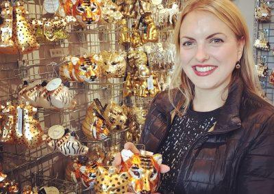 Longleat Christmas Merchandising Sarah Manning